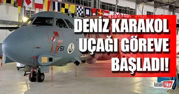 P-72 Deniz Karakol Uçağı görevine başladı!
