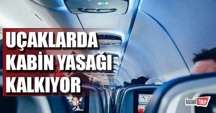 Uçaklarda kabin bagajı yasağı yarından itibaren kalkıyor