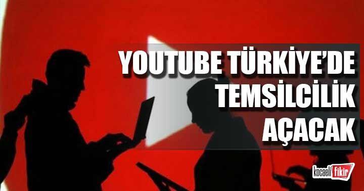 YouTube Türkiye'de temsilcilik açacak