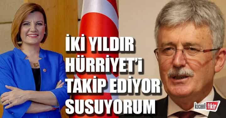 Mehmet Ellibeş; Hürriyet'i izliyor ve susuyorum!