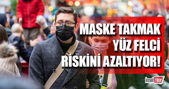 Maske takmak soğuk havalarda yüz felci riskini azaltıyor