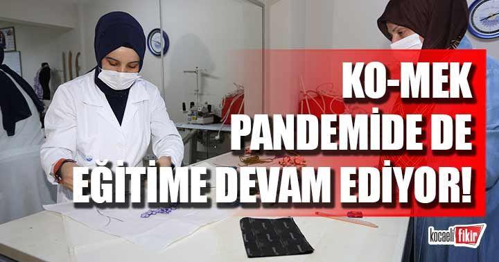 KO-MEK pandemide de eğitime devam ediyor!