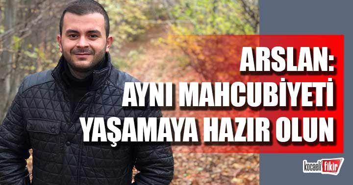 Gençlik Kolları Başkanı Arslan Haydar Akar'ın tramvayla dalga geçtiğini hatırlattı!