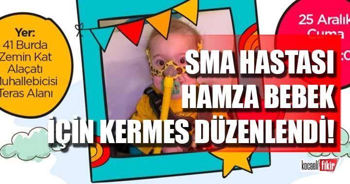 SMA hastası Hamza bebek için 41 Burda'da kermes!
