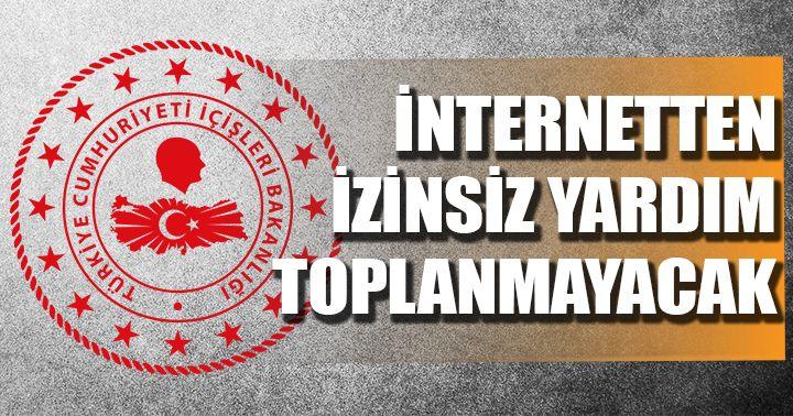 Bakanlıktan 'Yardım Toplama ve Dernekler Kanunu' açıklaması!
