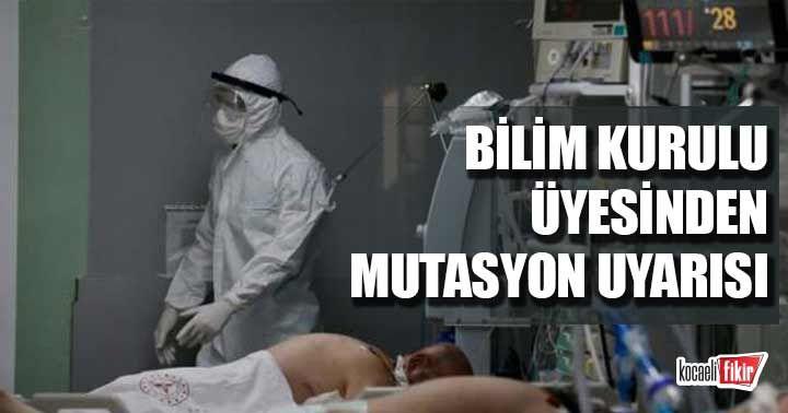 Bilim Kurulu Üyesi Prof. Dr. Mustafa Hasöksüz'den mutasyon uyarısı: İki kere önlem alın