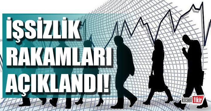 Türkiye işsizlik rakamları açıklandı!