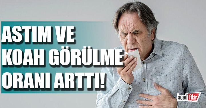Dr Özdolap uyardı: Astım ve KOAH görülme olasılığı arttı