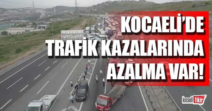 Emniyet müdürü paylaştı! Kocaeli'de trafik kazaları azaldı