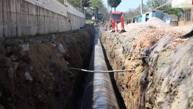 İSU Karakaya içme suyu hattını yeniliyor