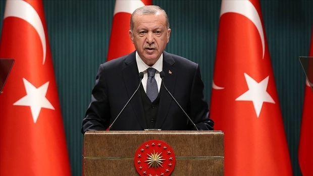 Cumhurbaşkanı Erdoğan esnaftan helallik istedi