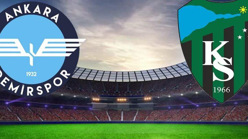 Kocaelispor 2-0 Ankara Demirspor