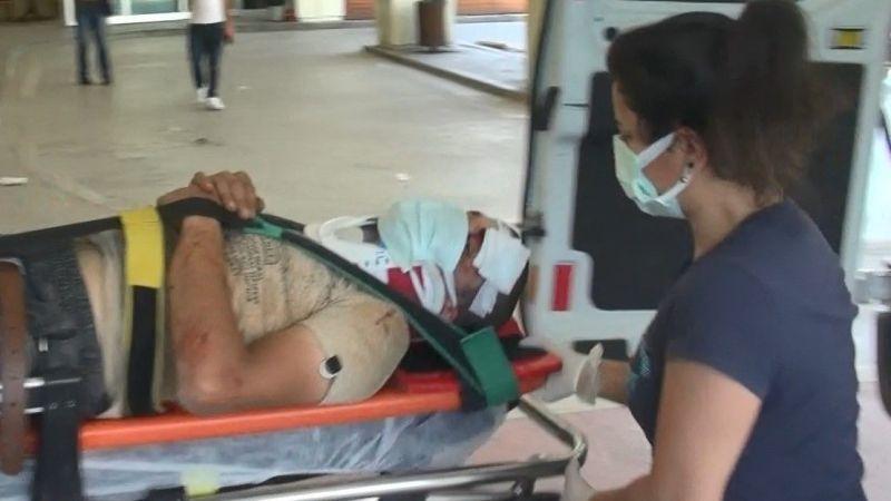 Otomobilin çarptığı bisikletli ağır yaralandı