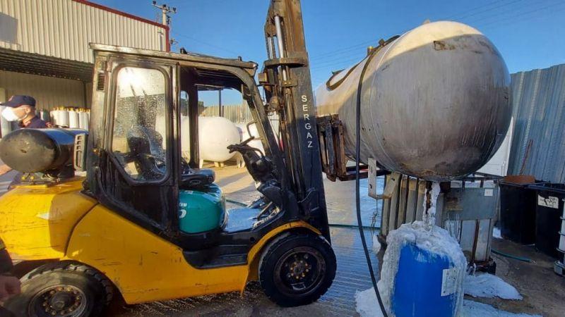 Gebze'de LPG tankı patladı: 5 yaralı