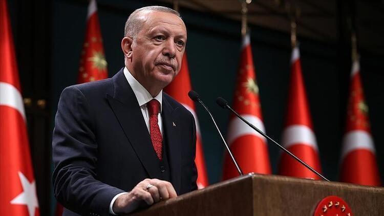 Cumhurbaşkanı Erdoğan kabine toplantısı sonrası açıklama yapıyor