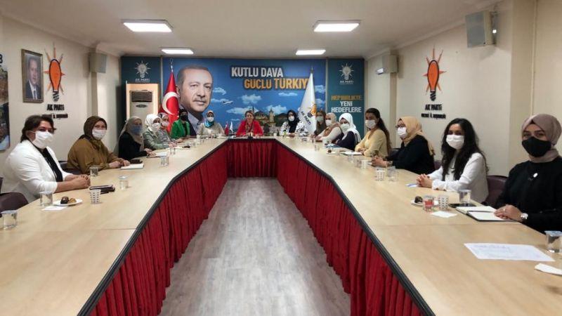 AK Partili kadınlar bir araya geldi