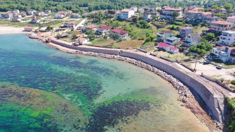 Kandıra plajlarında temizlik ve bakım çalışmaları