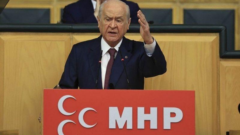 Bahçeli: HDP başka ad altında açılmamak üzere kapatılmalıdır