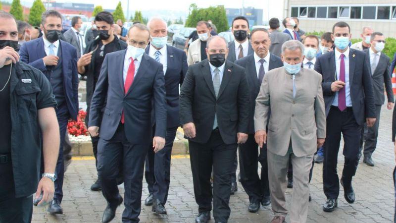 Tataristan Cumhurbaşkanı: Türkiye topraklarına yatırım gerçekleştirmek istiyoruz