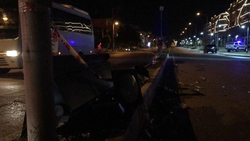 Kocaeli'de iki araç çarpıştı :9 yaralı
