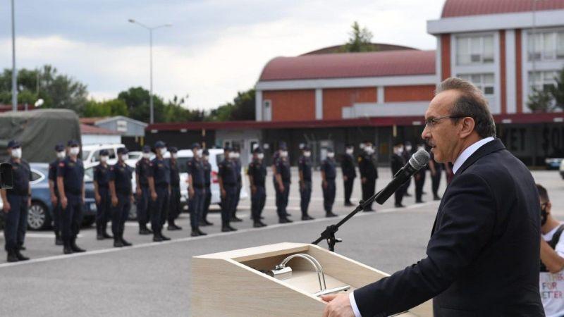 Vali Yavuz kurumları ziyaret ederek bayramlarını kutladı