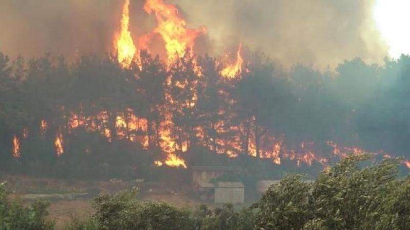 Manavgat'ta orman yangını yerleşim yerlerine sıçradı! 62 kişi hastanelik oldu