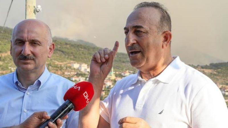 Dışişleri Bakanı Çavuşoğlu: Fransa ve Yunanistan yardım taleplerini geri çekti