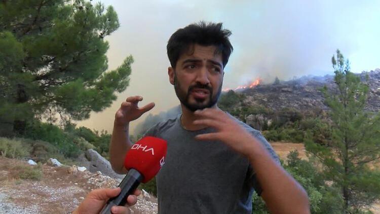 Manavgat'taki yangında memurlar ile tartışıp havaya ateş açan Yusuf Güney gözaltına alındı!
