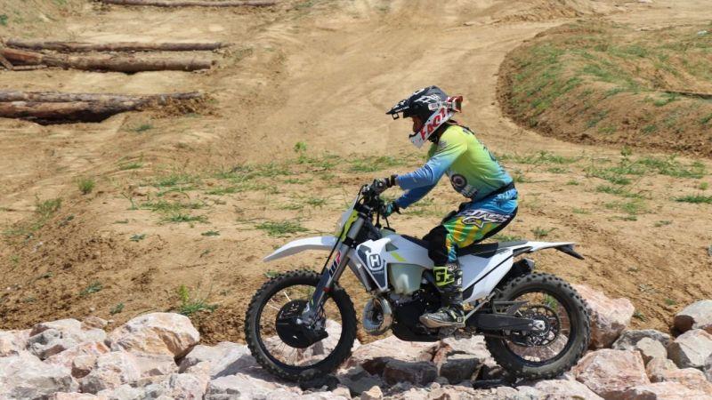Akmeşe Motocross Parkuru'nda antrenman turları başladı!