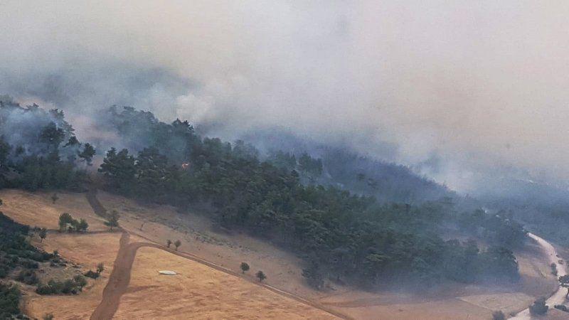 Muğla'da son durum! Üç yerde yangınlar sürüyor