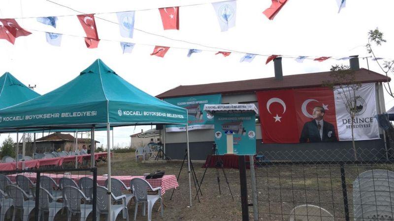 Taşköprü Kadın Emeği Merkezi açıldı