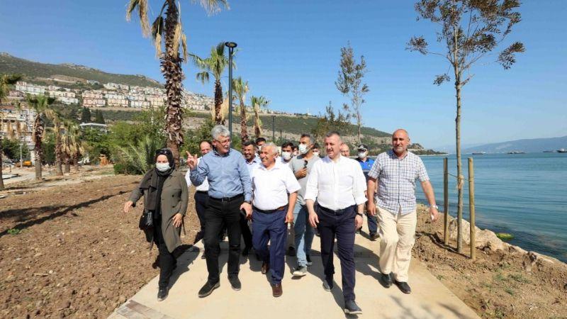 Hereke sahili 30 Ağustos'ta hizmete açılacak