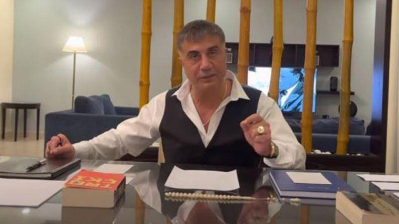 Sedat Peker kendisini eleştiren gazetecileri topa tuttu