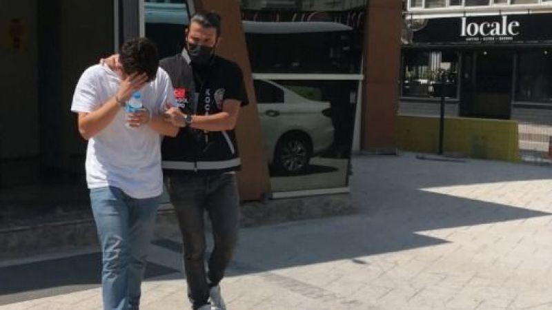 18 yaşındaki dolandırıcı tutuklandı!