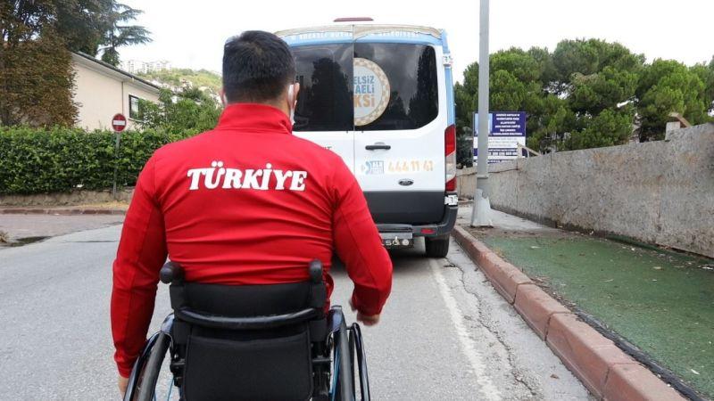 Milli sporcu Sayak; ''Engelsiz Taksi tüm belediyelere örnek olmalı''