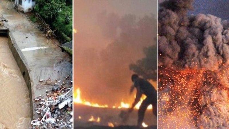 İşte yangınlar ve seller sonrası yardım kampanyaları