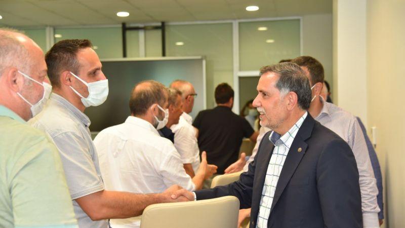 Yasin Özlü'ye AK Parti Genel Merkez'den Ziyaret