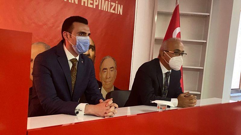 MHP ilk bakanını ağırladı