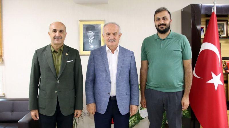 Derince Belediye Başkanı Zeki Aygün, Özdemir'i ağırladı
