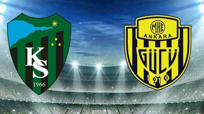 Kocaelispor- Ankaragücü maçı