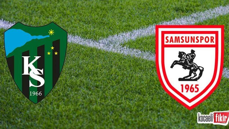 Kocaelispor Samsunspor maçı