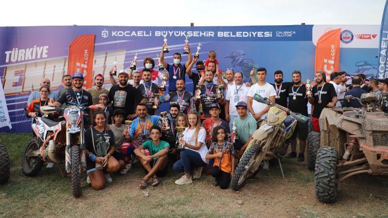 Kocaeli'de Enduro ve ATV şampiyonası