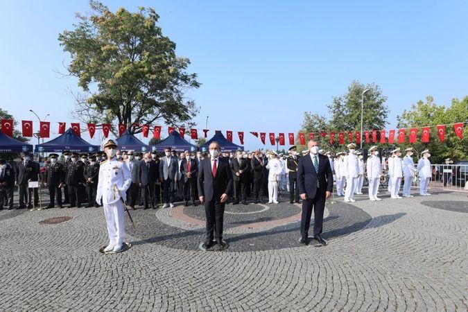 Kocaeli'de 30 Ağustos Zafer Bayramı töreni