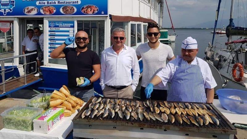 İzmit Marina Esnafları Ticari Dayanışma Derneği ücretsiz balık ekmek dağıtacak