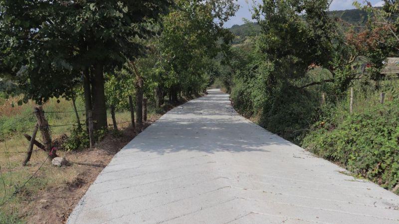 İzmit Belediyesinden Balören'e yeni yol