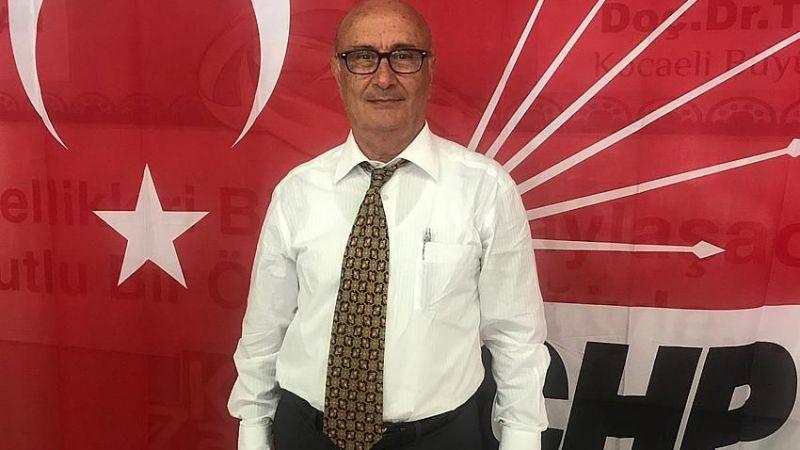 CHP Kartepe İlçe Başkanı Tevfik Mayda görevden alındı