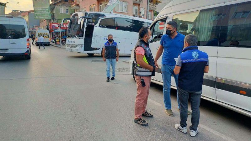 Kocaeli'de korsan taşımacılığa geçit yok