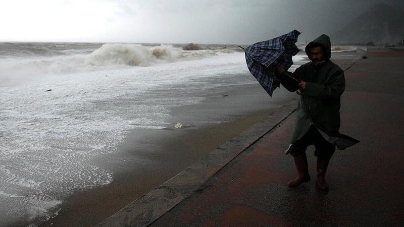 Meteoroloji'den Kocaeli'ye kuvvetli fırtına uyarısı!