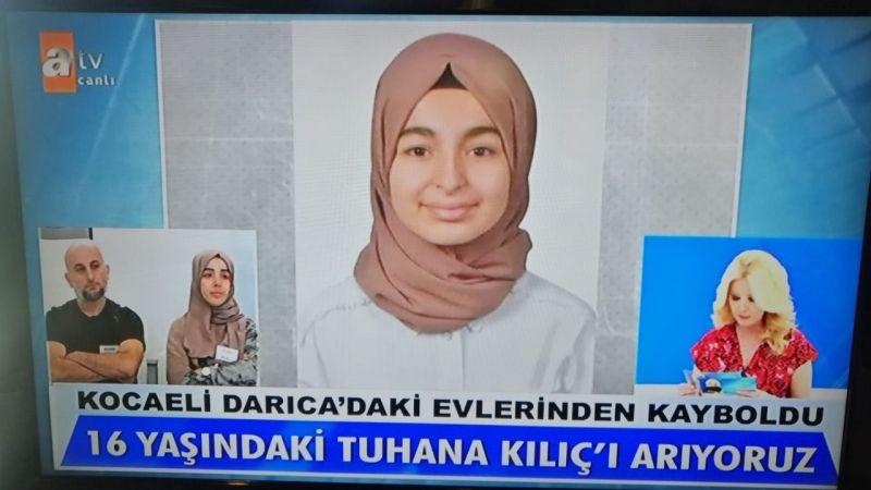 Tuhana Kılıç'ın ailesi Müge Anlı'dan yardım istedi