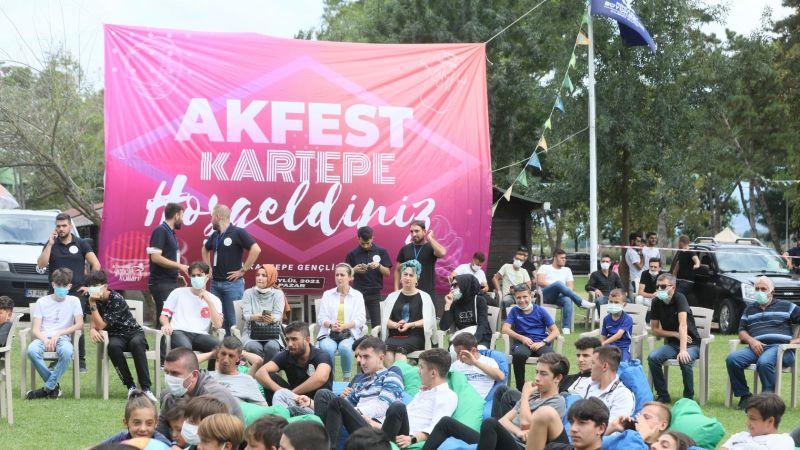Gençlik AKFEST'te buluştu